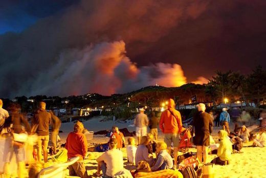 wildfires French Riviera July 2017