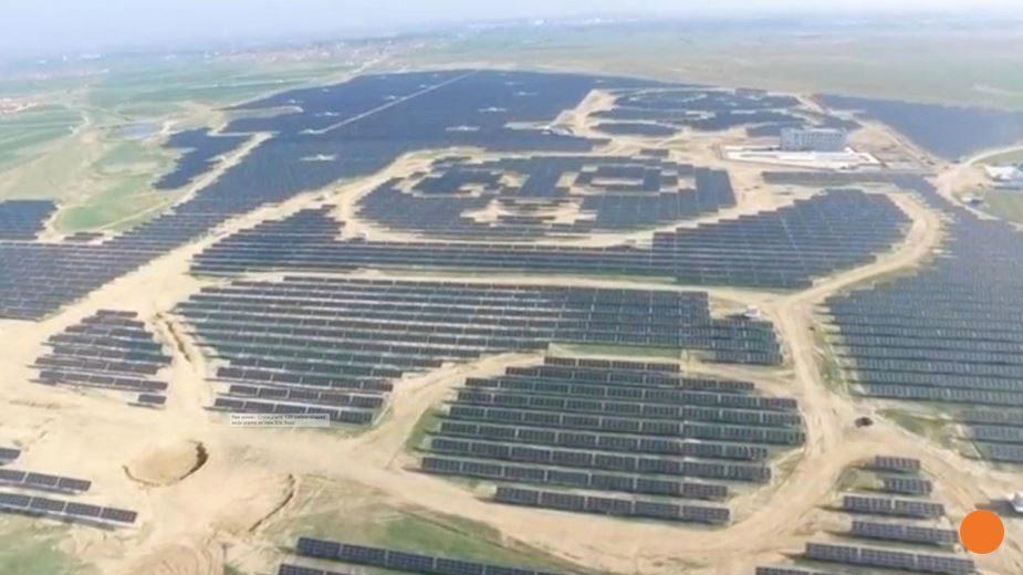 Leading The Way China Builds Giant Panda Shaped Solar
