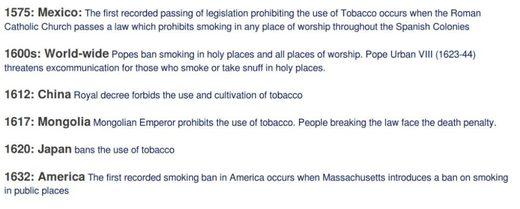 smoking ban 3 screenshot from  - Tobacco - Smokin' the propaganda peddlers