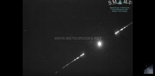 And another: 'Amazing' meteor fireball recorded over Cordoba, Spain