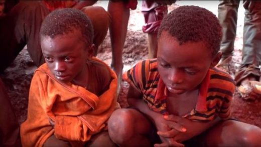 child slave lobar congo Dorsen and 11-year-old Richard