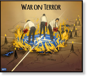 War on terror - fuel on fire