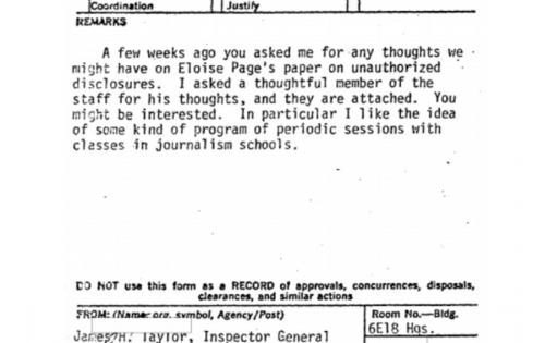 Newly unearthed memo reveals CIA infiltration of the media ...