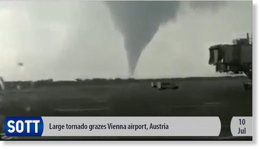 ECS July Tornado Austria airport