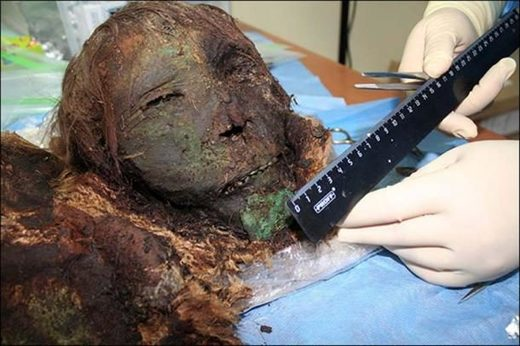 Mummy Artic region Siberia