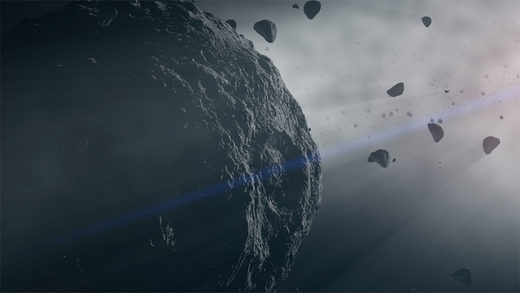 Family of 'dark' asteroids reveal secrets of the early solar system