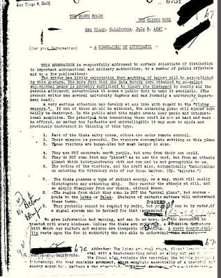The FBI's copy of Meade Layne's article