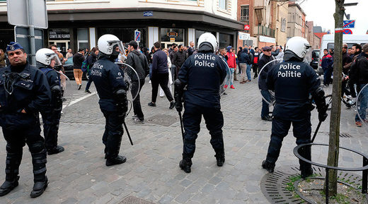 Molenbeek, Brussels, Belgium on April 2, 2016