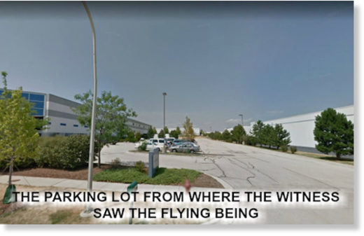 flying being parking lot