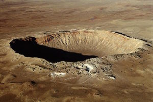 asteroid crater Arizona