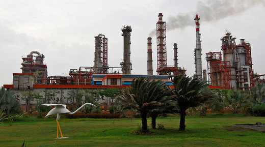 oil refinery of Essar Oil