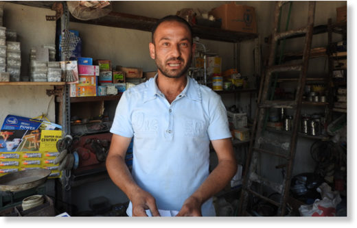 Bab al-Hadid shop owner