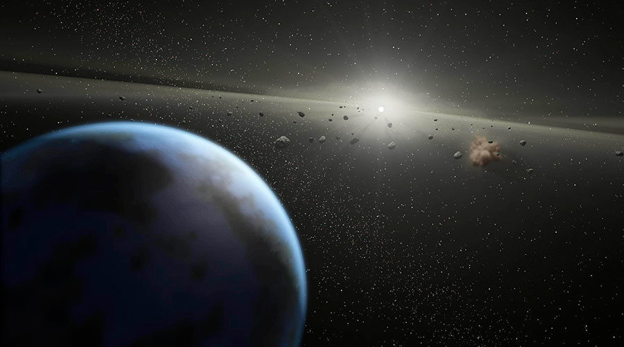 asteroid in the sky - photo #44