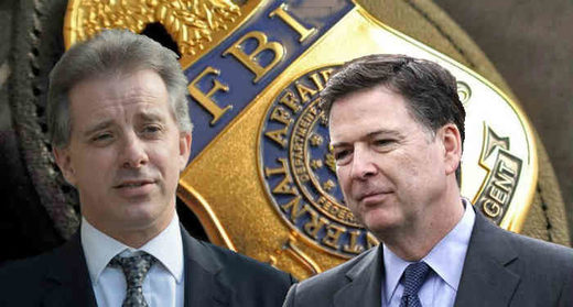 Christopher Steele and Comey