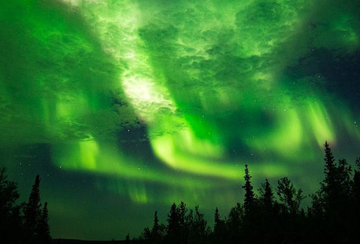Northern Lights over Sweden