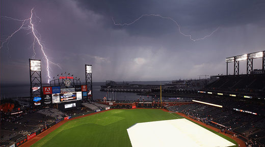 San Francisco lightning