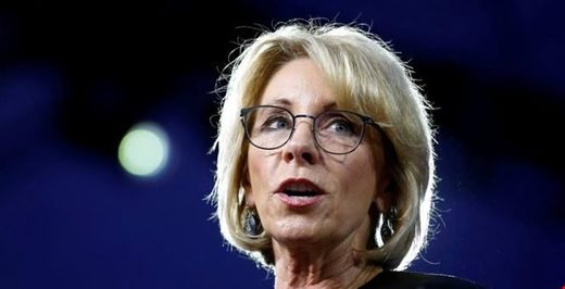 Betsy DeVos campus sexual assault