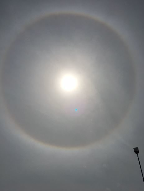 Greensboro sun halo
