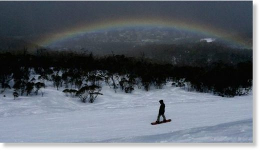 The best snowfall in 17 years means many are still enjoying the slopes at Thredbo.