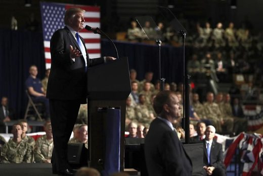 trump speech afghanistan