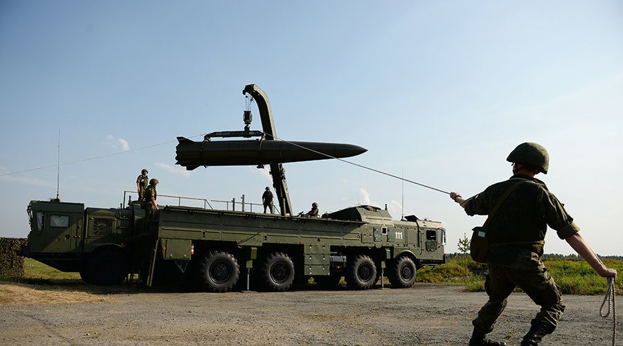 Russian Mod Iskander M Missile System Test Launched