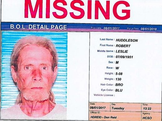 robert huddleson missing howell county MO