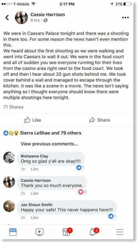 Caesar's palace shooting