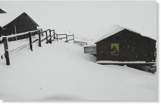 Snow in the Eastern Cape as most parts of the country are experiencing extreme weather conditions.