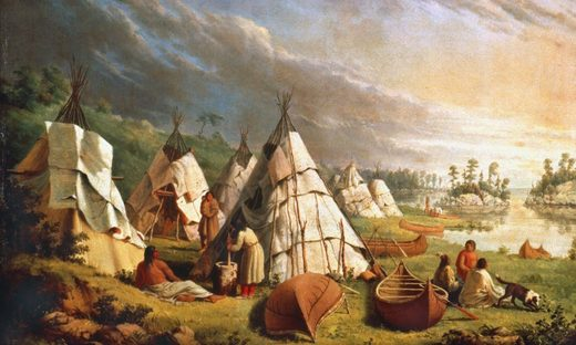 Native Americans Lake Huron, Indigenous Canadians treaty Great Britain