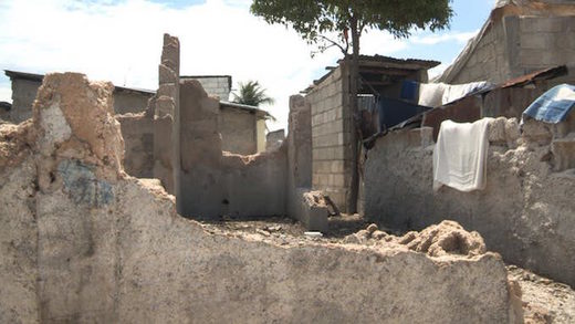 homes destroyed un peackeepers haiti