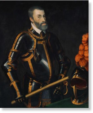 Portrait of Charles V.