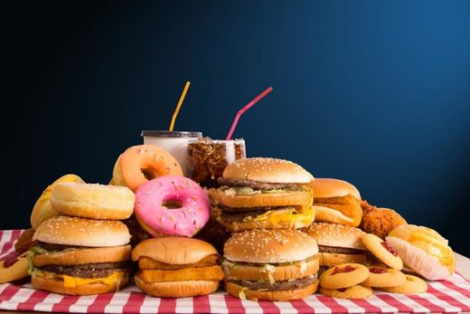 stress worse than junk food diet