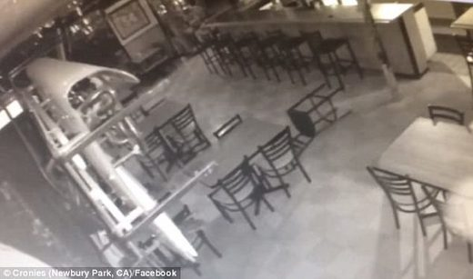 'Haunted' bar has seriously spooky things caught on surveillance tapes