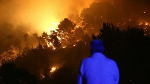 wildfires europe