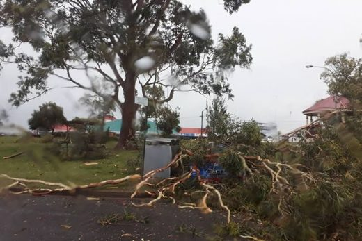Violent weather anomaly brings giant hail, unseasonal snow and destructive winds in New South Wales, Australia