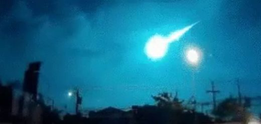 Meteor fireball over Germany