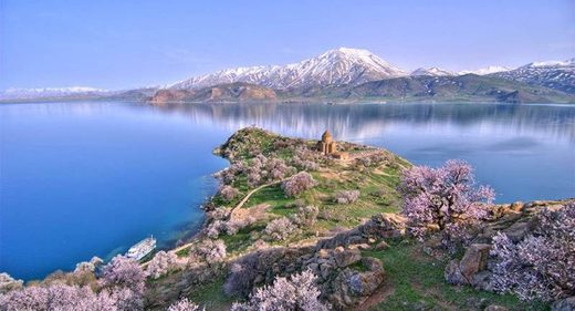 Lake Van castle turkey