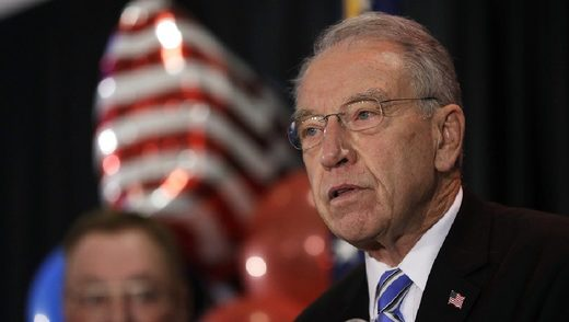 Sen. Chuck Grassley, in a letter to the FBI and the Justice Department, asked them to investigate the groups involved in the supply chain of fetal tissue.