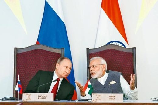 Russia India diplomatic relations partners