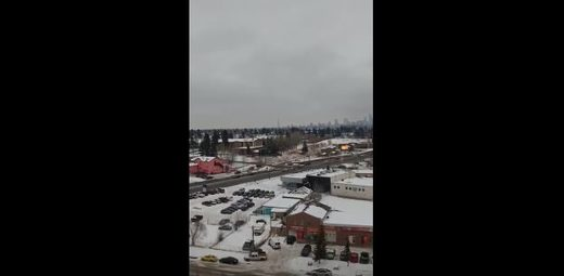 Strange sounds in Calgary