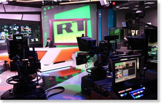 Russia Today's Moscow studio