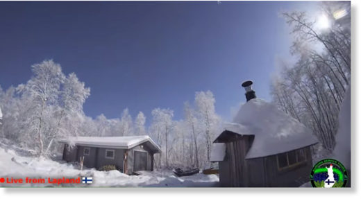 Arctic Fireball Turns Night into Day