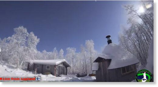 Arctic Fireball Turns Night into Day