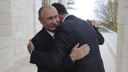 Assad visits Putin in Sochi, expresses heartfelt thanks to Russia for saving Syria