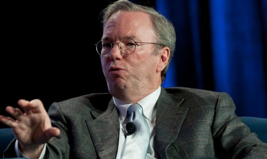 What is Google's Eric Schmidt so afraid of?
