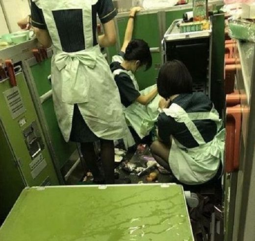 Eva Air turbulence