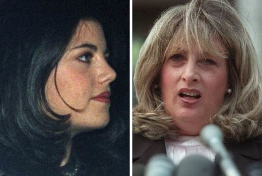 Monica Lewinsky and Linda Tripp