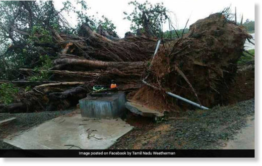 After damage in Tamil Nadu, Kerala, cyclone Ockhi intensified to a