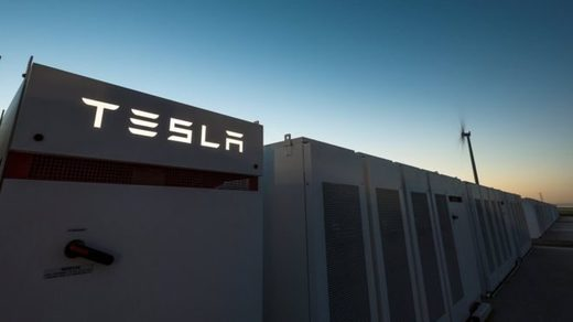 Tesla 'meag' battery in South Australia