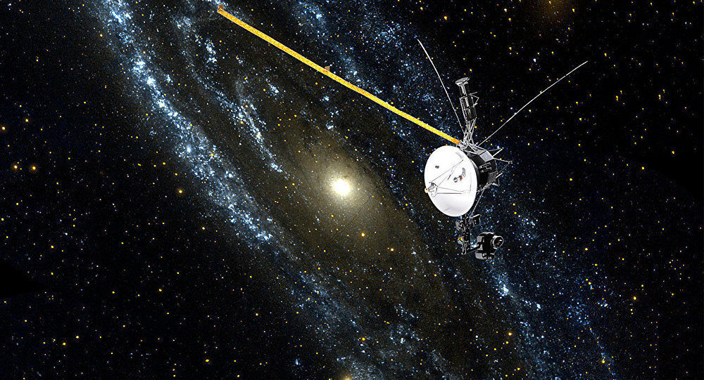 NASA's Voyager 1 still going after 37 years, 13 billion ...